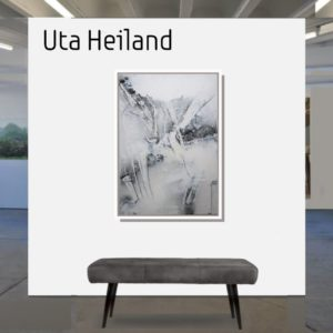 """Weiss <br><a href=""""https://arte-kunstmesse.de/uta-heiland/"""">Uta Heiland</a>"""