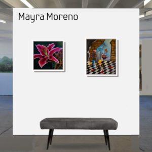 "The Broken <br><a href=""https://arte-kunstmesse.de/mayra-moreno/"">Mayra Moreno</a>"