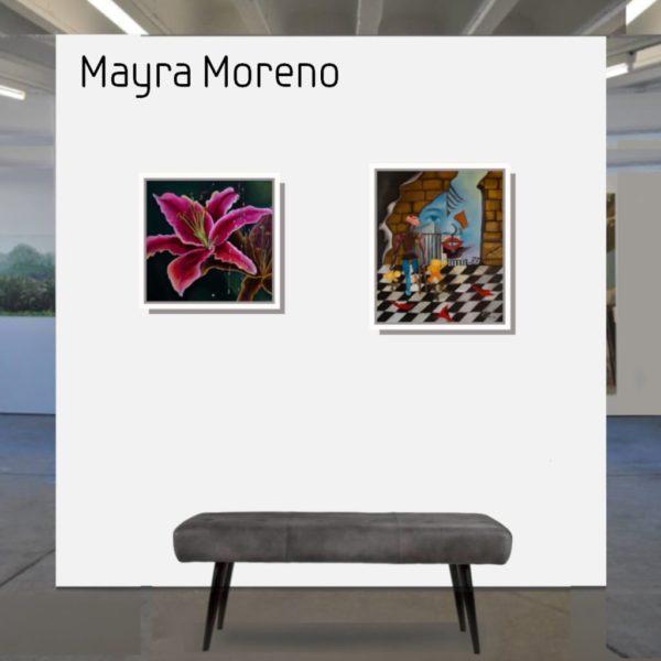 Maske_Moren_Mayra-La_flor_48x50_mit_Rahmen