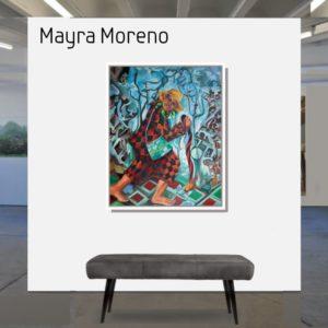 "Ich bin Juan <br><a href=""https://arte-kunstmesse.de/mayra-moreno/"">Mayra Moreno</a>"