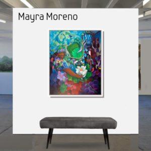 """#Salva el grillo <br><a href=""""https://arte-kunstmesse.de/mayra-moreno/"""">Mayra Moreno</a>"""
