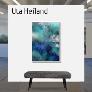 "Palmeninsel <br><a href=""https://arte-kunstmesse.de/uta-heiland/"">Uta Heiland</a>"