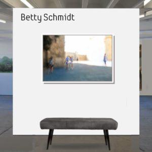 Betty Schmidt   gleissendes Licht   80 x 120 cm