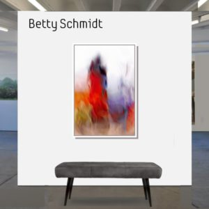 Betty Schmidt | That float into the sky | 120 x 80 cm