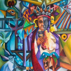 "Let the children come <br><a href=""https://arte-kunstmesse.de/mayra-moreno/"">Mayra Moreno</a>"