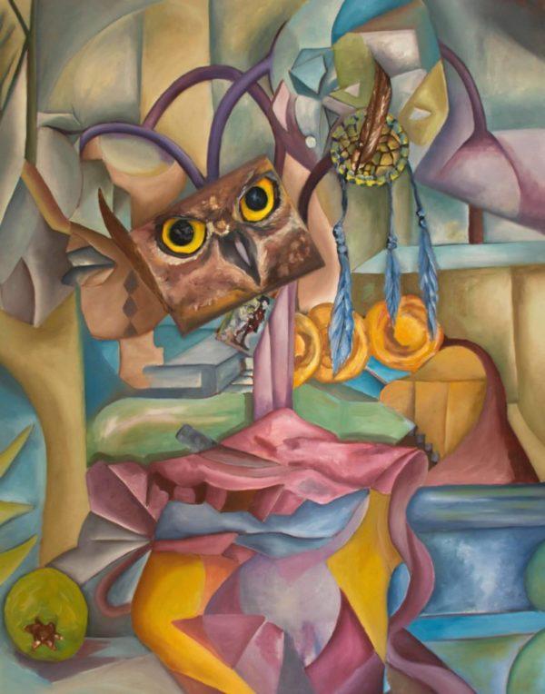 Moreno_Mayra_Diseccion_of_the_owl_100x80_web