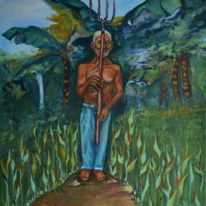 """Panamanian Gothic <br><a href=""""https://arte-kunstmesse.de/mayra-moreno/"""">Mayra Moreno</a>"""