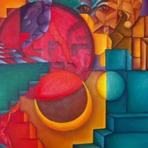 "The Fool <br><a href=""https://arte-kunstmesse.de/mayra-moreno/"">Mayra Moreno</a>"