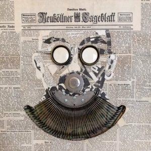 "The Journalist <br><a href=""https://arte-store.de/artists/kerstan-andreas/"">Andreas Kerstan</a>"