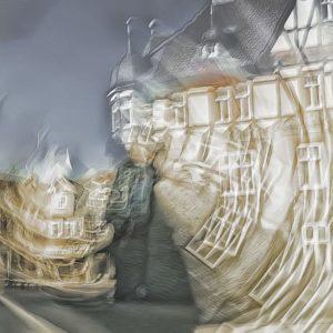 Betty Schmidt   Fenster dieser Welt   80 x 120 cm