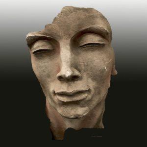 "Torso Gesicht  <br><a href=""https://arte-kunstmesse.de/monika-bendner/"">Monika Bendner</a>"
